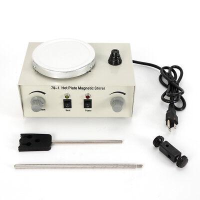1000ml Magnetic Stirrer With Heating Plate Digital Mixer Stir Bar Lab 2400rmin