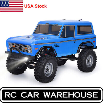RGT Racing RC Car 1/10 Scale Electric 4wd Off Road Rock Crawler Cruiser HSP Blue
