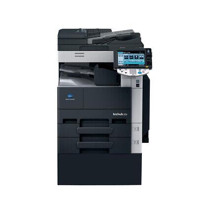 Konica Minolta Bizhub 283 Bw Printer Copier Scan Network 28ppm Laser A3 Tabloid