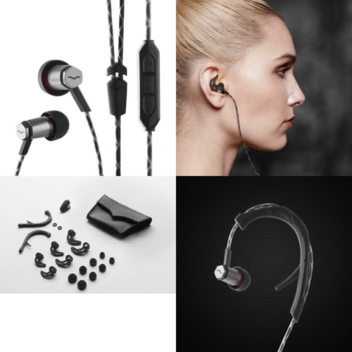 V-MODA Forza Metallo In-Ear Headphones with 3-Button Remote & Microphone UK POST