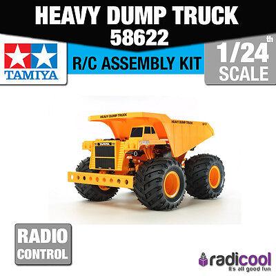 New! 58622 TAMIYA 1/24 HEAVY DUMP TRUCK GF-01 RTR R/C KIT RADIO CONTROL