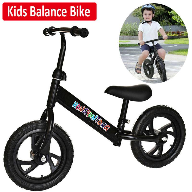 "Kid Balance Training 12"" Bike No-Pedal Learn To Ride Pre Pus"