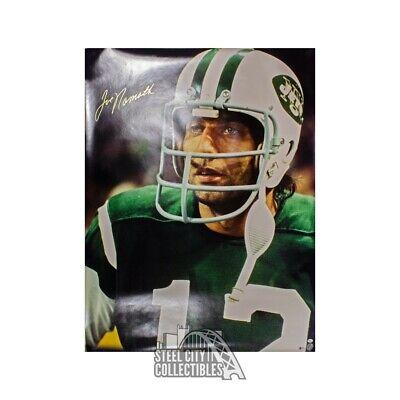 d689317df81 Joe Namath Autographed New York Jets 30x40 Poster - BAS COA