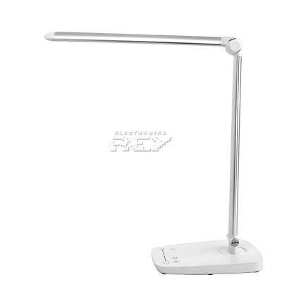 Lámpara Flexo Plegable Luz LED Blanca / Cálida 10 W Giratorio Entrega...