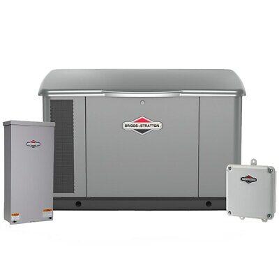 Briggs Stratton 20kw Standby Generator System W Wi-fi Steel 150a Servic...