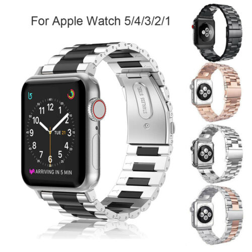 For Apple Watch iWatch 5/4/3/2/1 Stainless Band Watch Strap