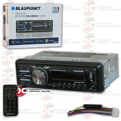 $29.99 - BLAUPUNKT COLUMBUS100BT CAR AUDIO 1-DIN USB MP3 DIGITAL MEDIA BLUETOOTH STEREO