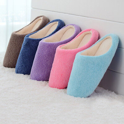 Woman Warm Soft Indoor Home Slippers Plush Slippers Winter Slippers Plus Size