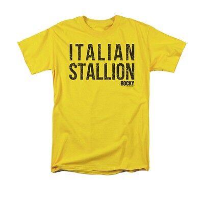ROCKY ITALIAN STALLION Licensed Adult Men's Graphic Tee Shirt SM-5XL ()