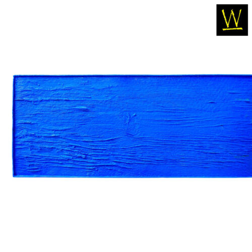 Centennial Plank Wood | Single Concrete Stamp by Walttools (Blue, 7 ft.)