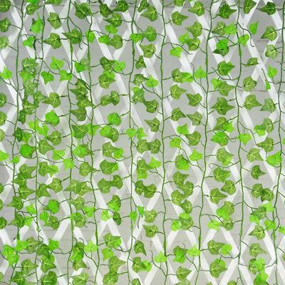 Ivy Leaf (Hanging Artificial Ivy Leaf Garland Plant Vine Foliage Garden Wedding)