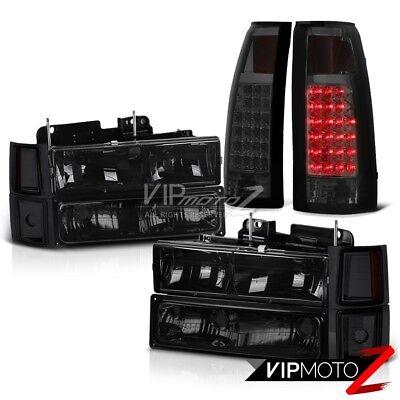 [SMOKE] 1994-1998 Chevy C10 CK 1500 2500 Corner Bumper Headlight LED Tail Lights