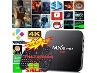 KODI MXQ PRO Quad Core Android 6.0 TV Box Fully Loaded Free 4K Live Sports Movie