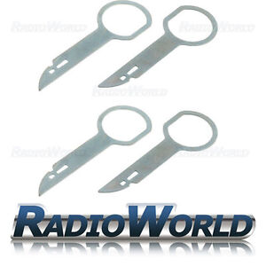 Ford 6000 6006 Car CD Radio Removal Release Keys Stereo Extraction Tools Pins