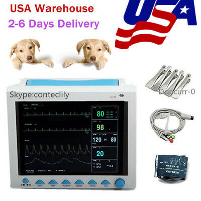 Newest Vet Cms8000vet Multiparameter Vital Signs Veterinary Patient Monitor Fda