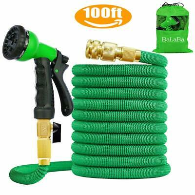 100FT Expandable Garden Water Hose Pipe/ 3 Times Expanding Flexible Lightweight