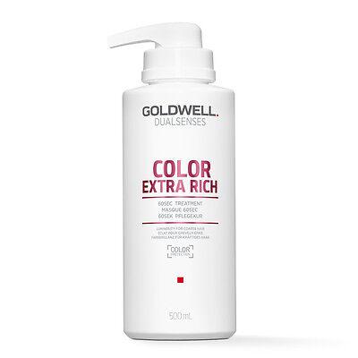 (39,98€/L) Goldwell Dualsenses Color Extra Rich Brilliance 60Sec.Treatment 500ml ()