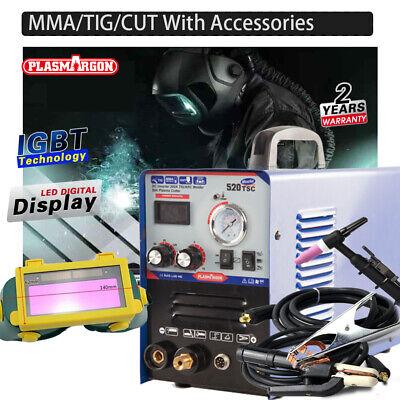 520tsc Cut Tig Arc Welder Inverter 200a Plasma Cutter Welding Machine Us Stock