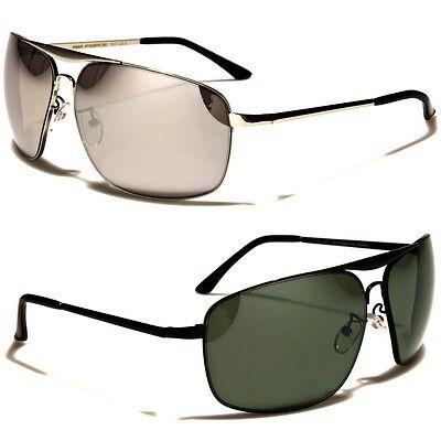 Air Force Metal Rectangle Men's Aviator Sunglasses