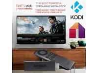 Amazon Fire TV Stick 2ndgen Alexa Voice remote✔NEW✔Kodi 17✔Movies✔Boxsets✔Sport✔Fightnight✔Live✔Auto