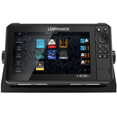 Photo Lowrance HDS-9 LIVE No Transducer w/C-MAP Pro Chart