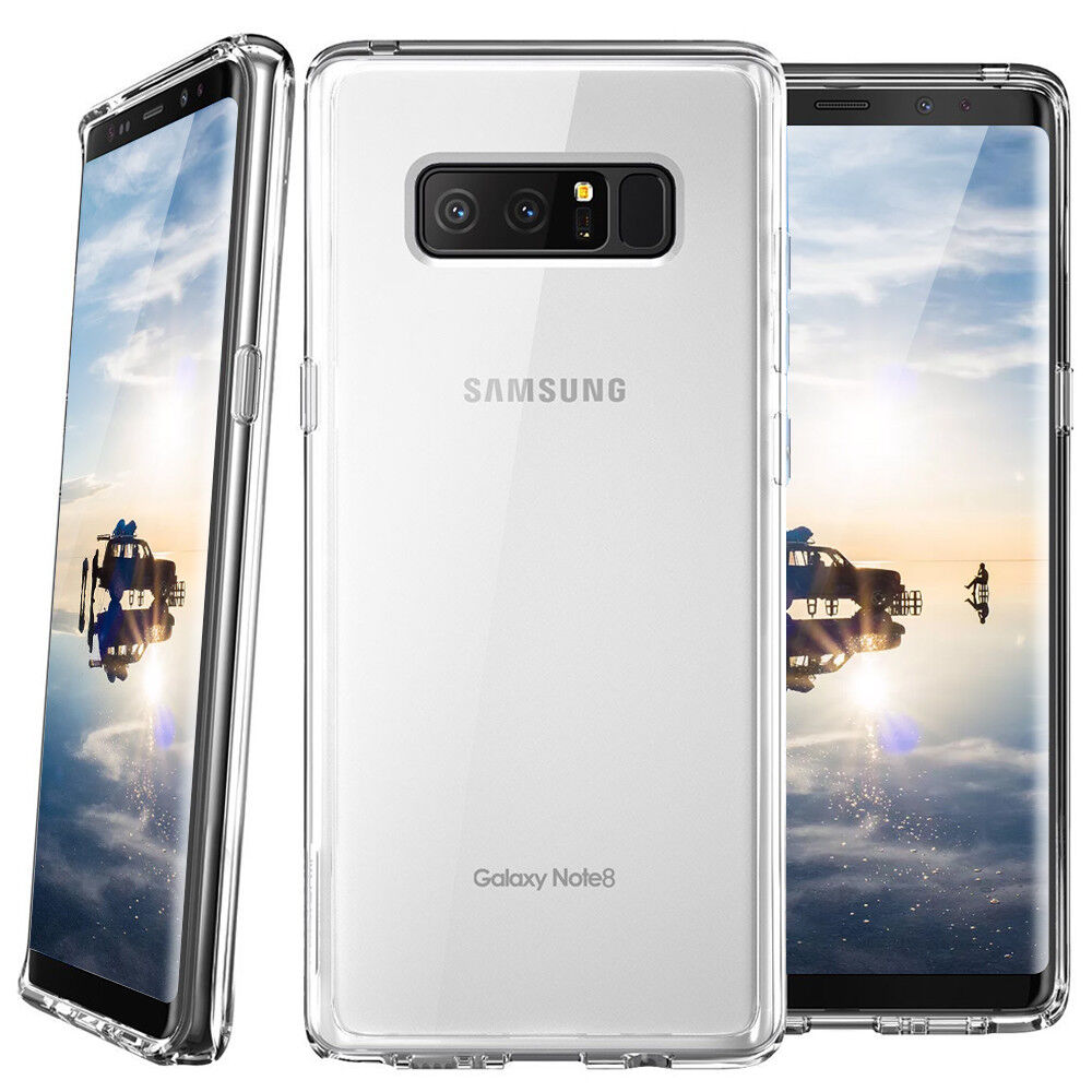 For Samsung Galaxy S10/Plus/S10e/Note 9/8/S9 Ultra Thin Crystal Clear Phone Case For Samsung Galaxy Note 8 Case