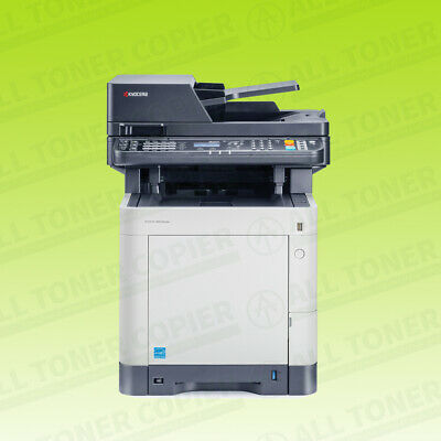 Kyocera Ecosys M6035cidn Laser Color Bw Printer Scanner Copier Fax 37ppm A4 Mfp