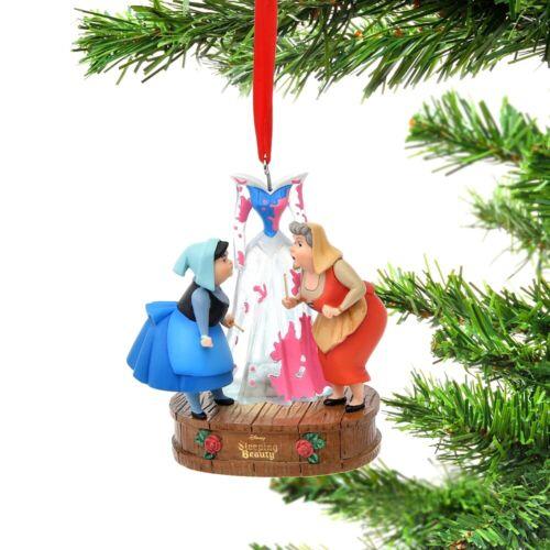 PreOrder Disney Store Japan Sketchbook Ornament Dress Merryweather & Flora SB