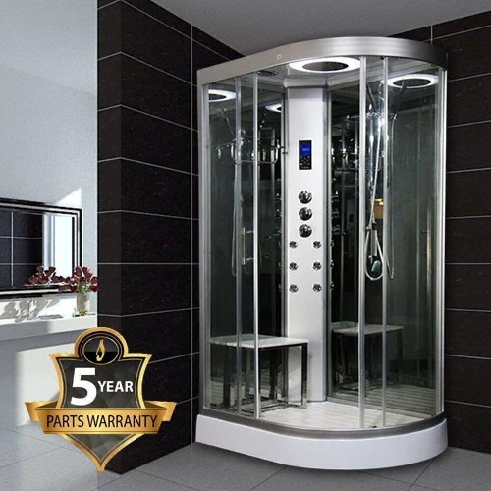 Insignia Offset Quadrant Hydro Massage Shower Enclosure (Left Hand ...