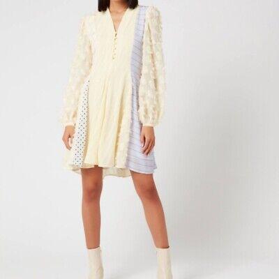 Stine Goya Vico mixed print dress Sz XS extra Small