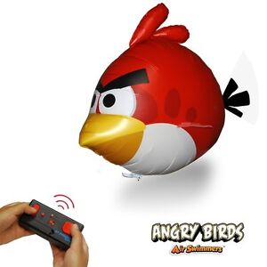 Air Swimmers Angry Birds - rot - funkferngesteuert - Play and have Fun !
