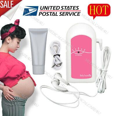 Us Sellerbaby Sound A Pocket Fetal Doppler Prenatal Heart Rate Monitorfree Gel