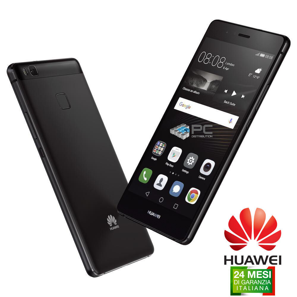 HUAWEI P9 LITE 16GB BLACK NERO 3GB RAM 5.2