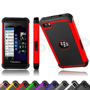 NEW-SHOCK-PROOF-CASE-COVER-For-BlackBerry-Z10-BB-10-SCREEN-PROTECTOR-STYLUS