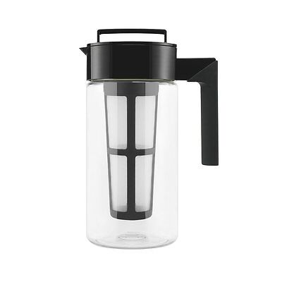Takeya Cold Brew Iced Coffee Maker, 1Quart, Black, New, Free Shipping