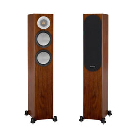 MONITOR AUDIO Silver 200 PAir Speakers Walnut *BRAND NEW WITH RECEIPT* 5 Year Warranty* RRP£1000