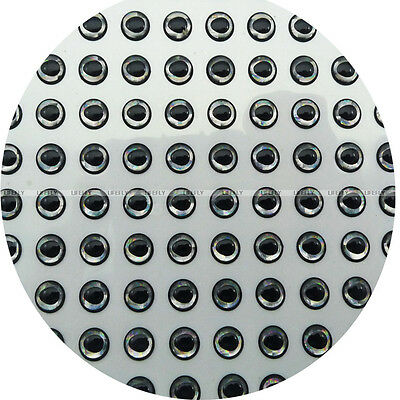 20mm 3D Assortment 3 Colors Combo 150 Soft Molded 3D Holographic Fish Eyes
