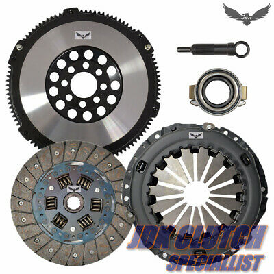 JDK STAGE 2 CLUTCH KIT+FORGED FLYWHEEL for CELICA COROLLA VIBE 1.8L 6 SPEED Forged Oem Clutch