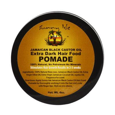 Sunny Isle Extra Dark Jamaican Black Castor Oil Hair Food Po