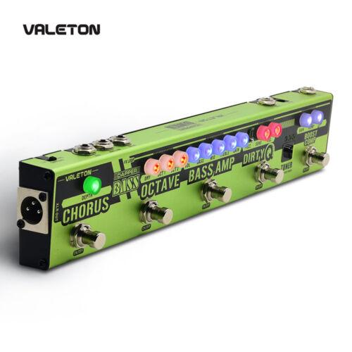 Valeton Dapper Bass Guitar Multi Effects Pedal Strip Bass Tuner Chorus Octaver