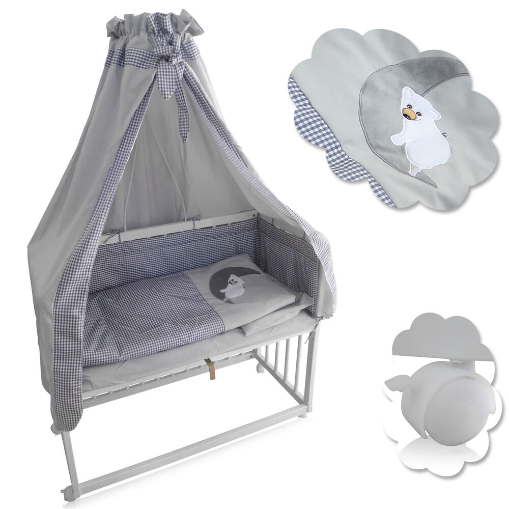 Beistellbett Babybett Stillbett Stubenbett Nestchen Stubenwagen Kinderwiege