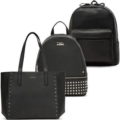 Borsa o zaino donna TWIG ASTELL / OKIN / VILLON borchie bag zainetto nero