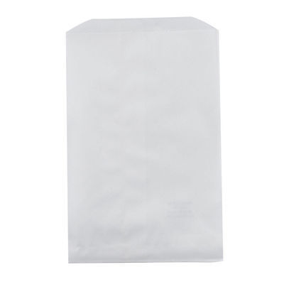 100 White Paper Bags, 6.25 x 9.25