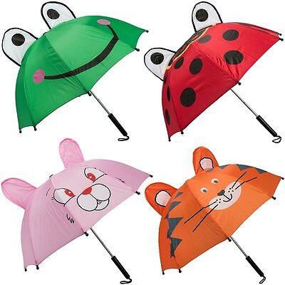 D Motive 62cm Kleinkinder Sonnenschirm Mädchen Jungen Neu (Jungen Regenschirm)