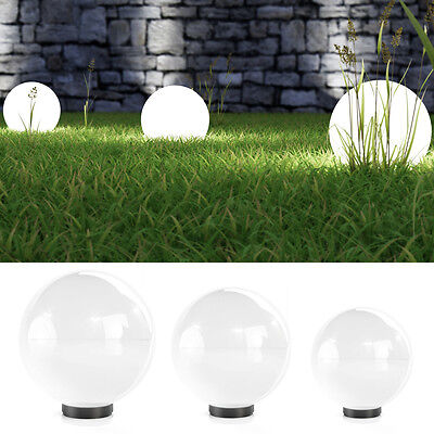 3er Set Kugelleuchte Kugellampe Leuchtkugel Außenlampe Gartenlampe Außenleuchte