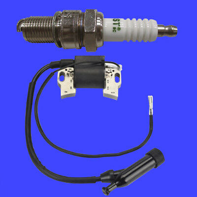 Gxi Ignition Coil Spark Plug For Stanley Ch5 Ch7 10hp Wood Chipper Shredder