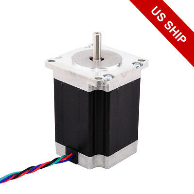 Nema 23 Stepper Motor 1.9nm269oz.in 3a 76mm Length 4-lead Cnc Mill Router