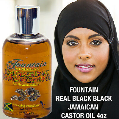 Natural Hair Growth Serum Scalp Treatment Black Castor Oil Eyelash & Brow Oil - Eyelash Hair Growth