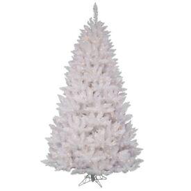 White Christmas tree 6 ft