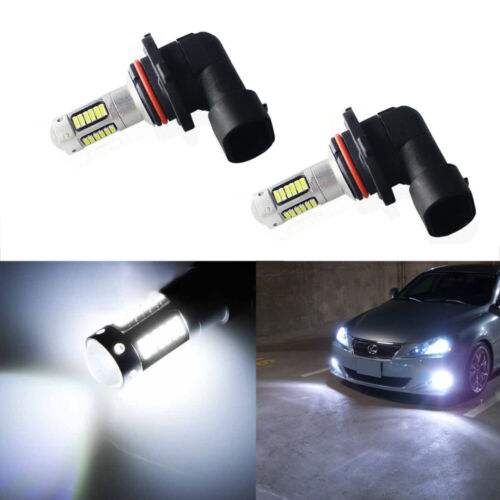 2pcs 9005 30-SMD Bright White LED High Beam Daytime